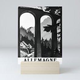 manifesto Dans le foret Noire Mini Art Print
