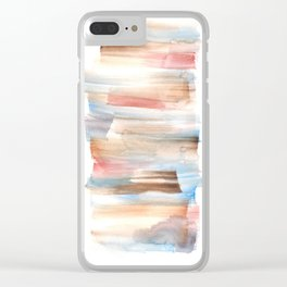 Frozen Summer Series 74 Clear iPhone Case