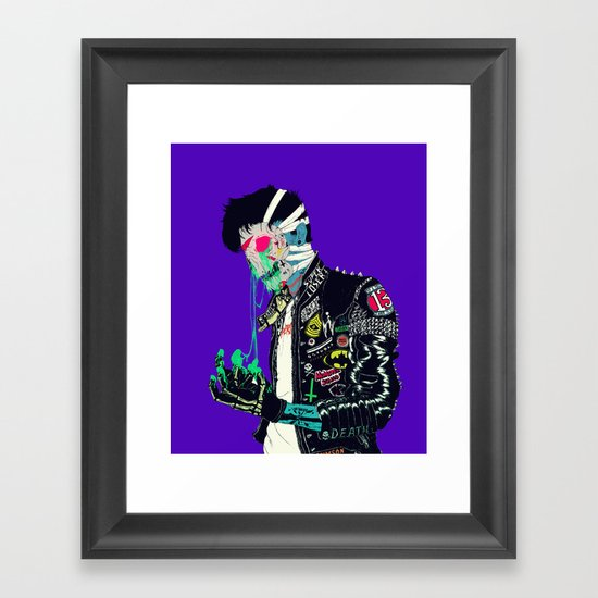 Slime Framed Art Print
