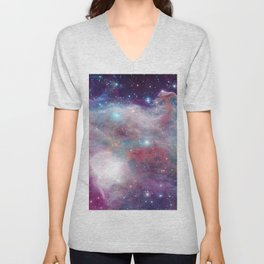 Eagle Nebula Horsehead Nebula Pastel Unisex V-Neck