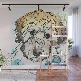 Sweet Eyes Doodle Art Wall Mural