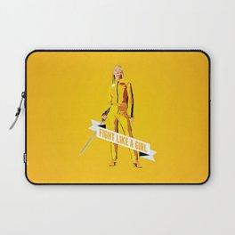 Fight Like a Girl: Beatrix Kiddo Laptop Sleeve