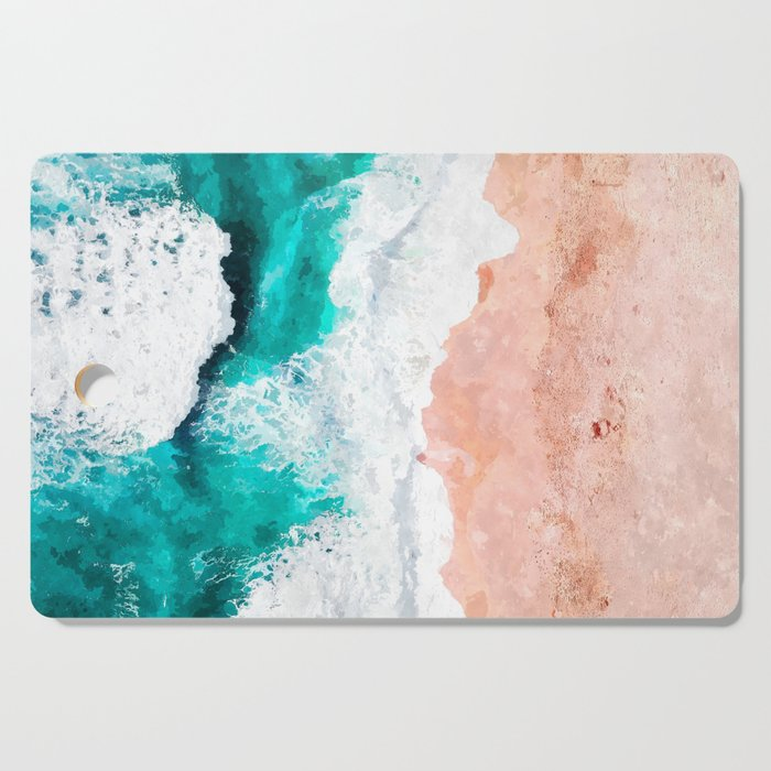 Beach Illustration Cutting Board