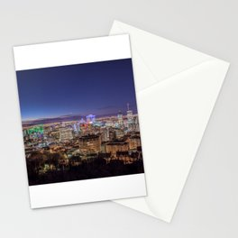 Montreal Night Moves Stationery Cards