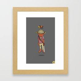 Pacha Sabino Romero Yukpa Framed Art Print