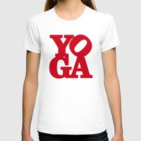 yoga T-shirts featuring YoGA by Isamu