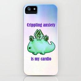 Dinosaur Anxiety iPhone Case