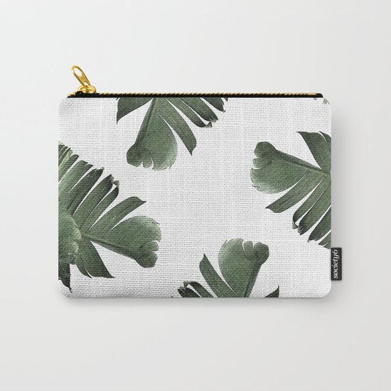 Banana Leaf Frenzy #society6 Carry-All Pouch