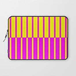 Canary Zebra Plays Piano Laptop Sleeve