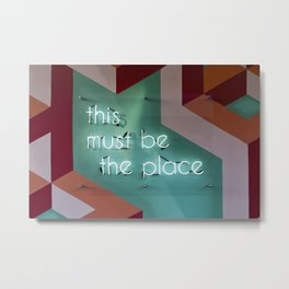 Right Here Metal Print