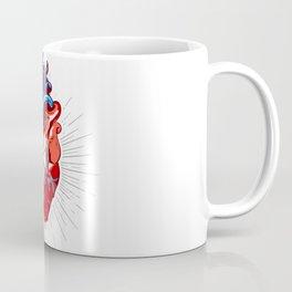 Realistic Heart Illustration Coffee Mug