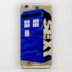 Minimalist Doctor Who  - SEXY TARDIS iPhone & iPod Skin
