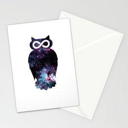 Super Cosmic Owlfinity Stationery Cards