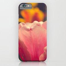 Pretty Pink Flower Slim Case iPhone 6s