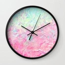 Plastered Memories 2 Wall Clock