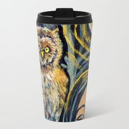 Wisdom Owl * Nature Maiden Travel Mug
