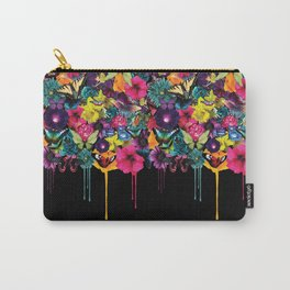 Flowers Melting Carry-All Pouch