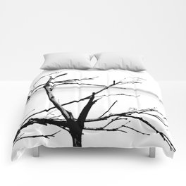 Lonely Branches Comforters