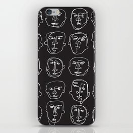 Facial Expression (Inverted) iPhone Skin