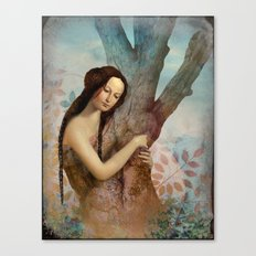 Embraced Canvas Print