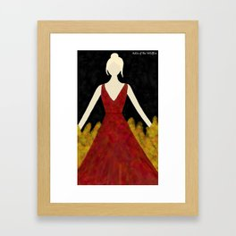 Aelin of the Wildfire Framed Art Print