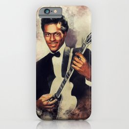 Chuck Berry, Music Legend iPhone Case