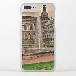 Zwingergarden Dresden Clear iPhone Case