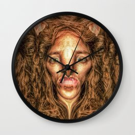 Cowardly Lion of Oz Wall Clock