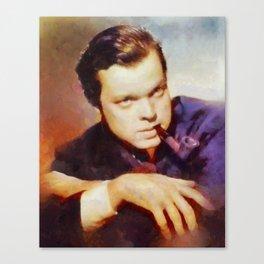 Orson Welles by SK Canvas Print
