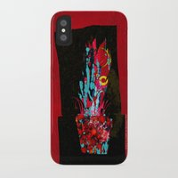 plant iPhone & iPod Cases featuring plant by frederic levy-hadida