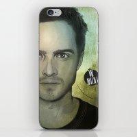 jesse pinkman iPhone & iPod Skins featuring Jesse Pinkman, Yo bitch! by Duke.Doks