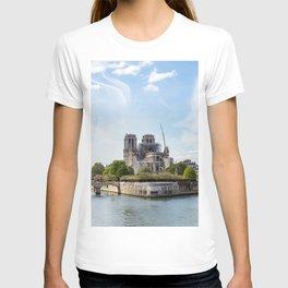 Notre Dame de Paris after the fire T-shirt