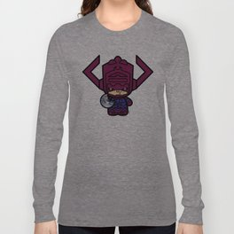 Chibi-Fi Galactus Long Sleeve T-shirt