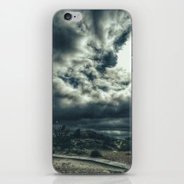 Thunder is coming iPhone Skin