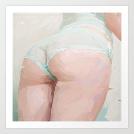 Tushie 19 Art Print