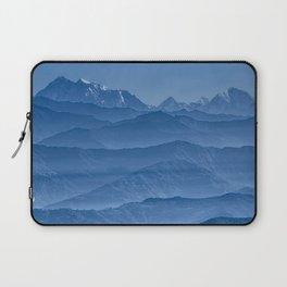 Blue Hima-layers Laptop Sleeve