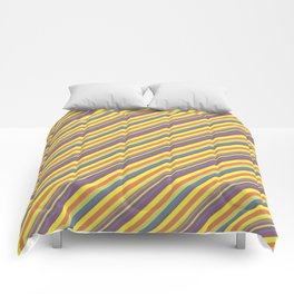 Summer Lights Inclined Stripe Comforters