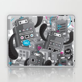 Must destroy the city - Revisited Laptop & iPad Skin