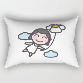 I'm flying Rectangular Pillow