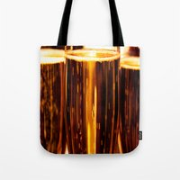 champagne Tote Bags featuring Champagne  by Al Robinson
