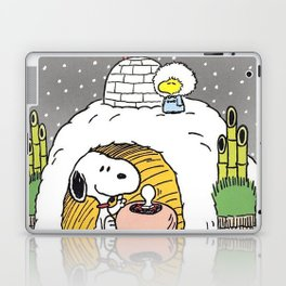 snoopy christmas Laptop & iPad Skin