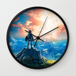 Zelda Breath of the Wild Wall Clock