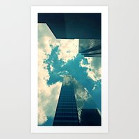 look up time to time Art Print