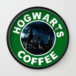 Potter's Coffee Wall Clock