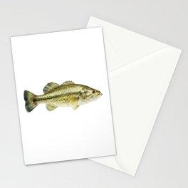 Largemout Bass Stationery Cards