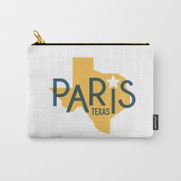 Paris Texas State Design Carry-All Pouch
