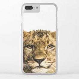Tiger Cub Clear iPhone Case