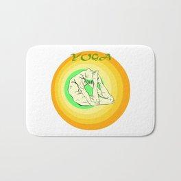 Yoga: asana Bath Mat