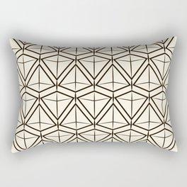 """Art Deco . """"Argo """". Light background Rectangular Pillow"""
