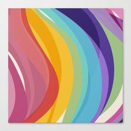 Fig. 045 Colorful Swirls Canvas Print
